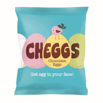 Cheggs mini chocolate eggs for easter