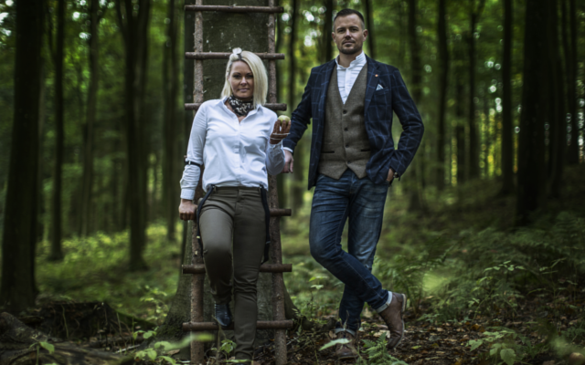 Kongsgaard owners in the forrest