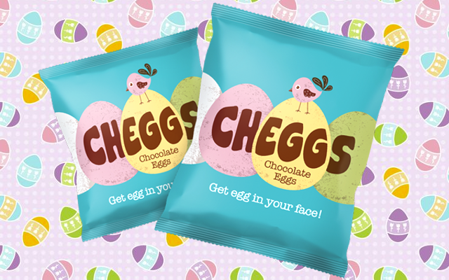 Cheggs chocolate mini eggs for easter