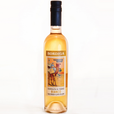 Bordiga Vermouth Bianco bottle from Italy
