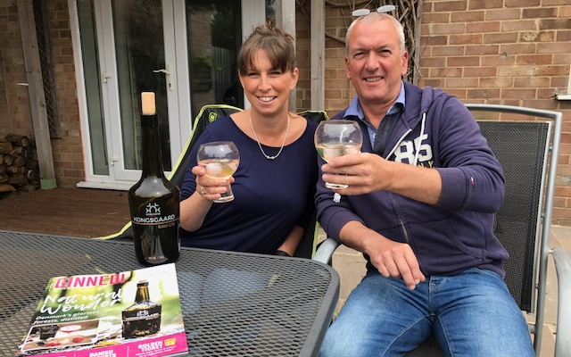 Gin O'clock crossword winners with Kongsgaard Gin and Ginned magazine