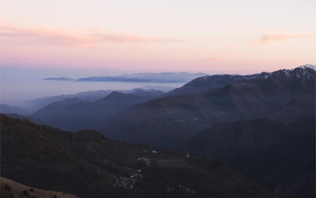 Piedmont Italian Alps