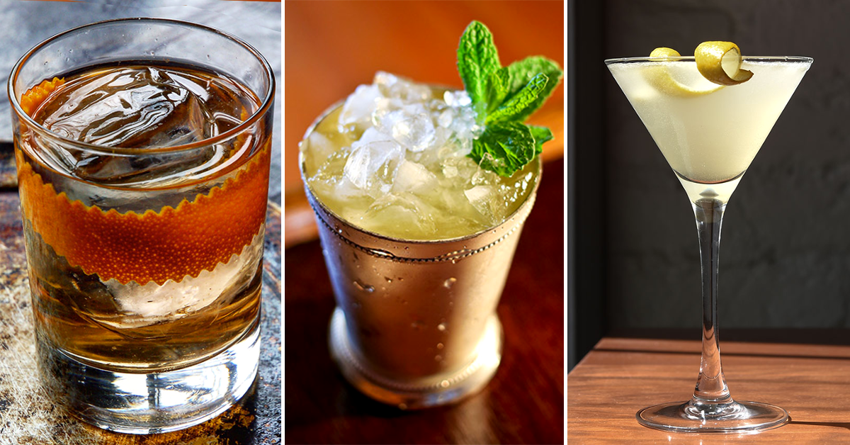 6 classic whisky cocktails that are better with gin instead ...