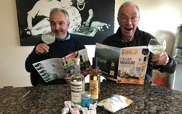 May's Ginstagram winner with Occitan Gin and Ginned Magazine