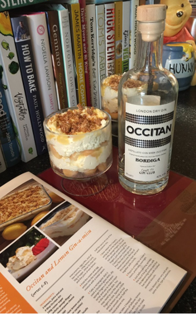 May Ginstagram runner up occitan gin cheesecake