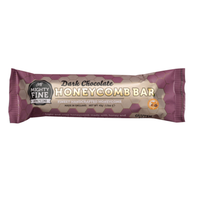 The Mighty Fine Dark Chocolate Honeycomb Bar