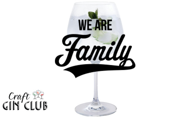 Gin and tonic chic we are family