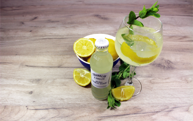 Franklin and Sons perfect Sicilian Summer serve gin and tonic