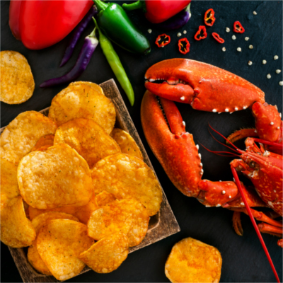 Burts Firecracker Lobster Chips Crisps