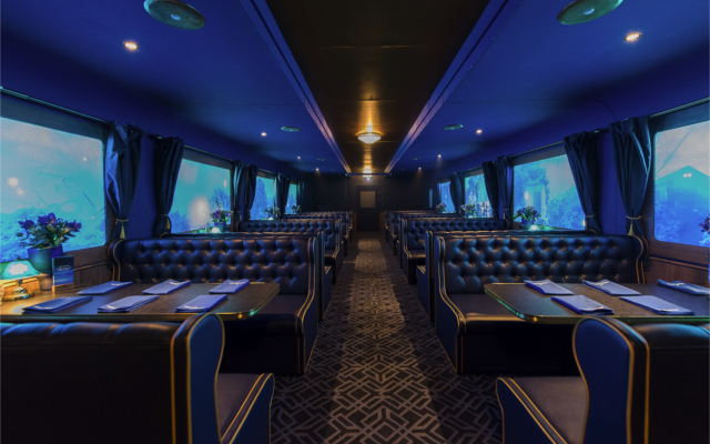 Bombay Sapphire Train Around the World
