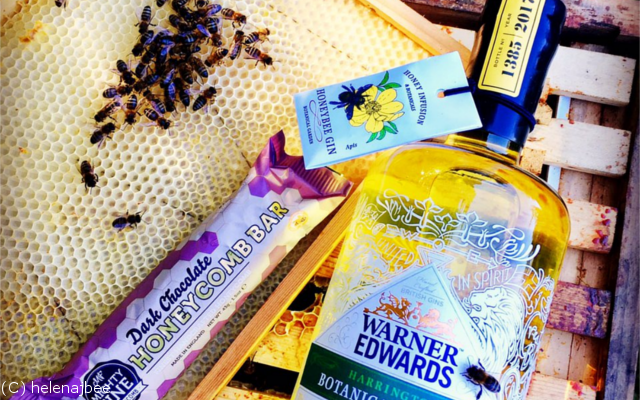 Bees and gin save the bees warner edwards