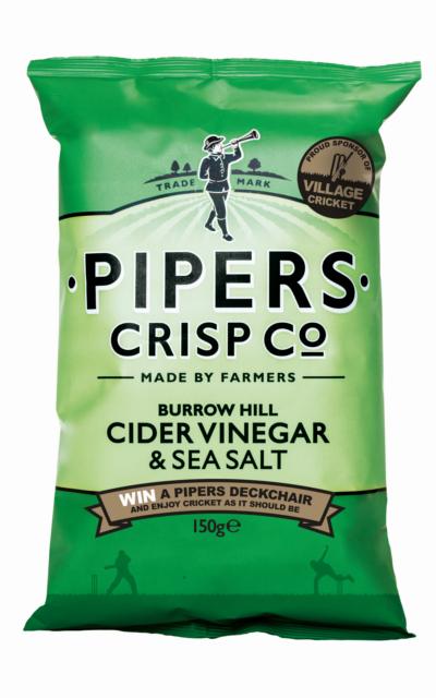 Pipers Crisp Co Burrow Hill Cider Vinegar & Sea Salt