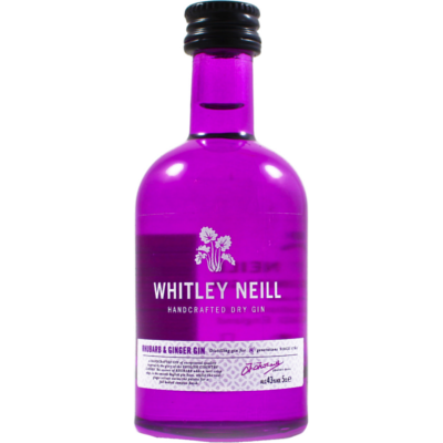 Whitley Neill Rhubarb and Ginger Gin 5cl