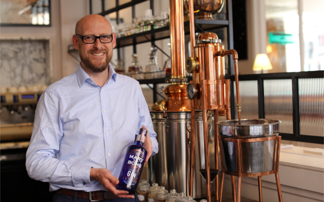 Marylebone Gin Distillery Owner with Still