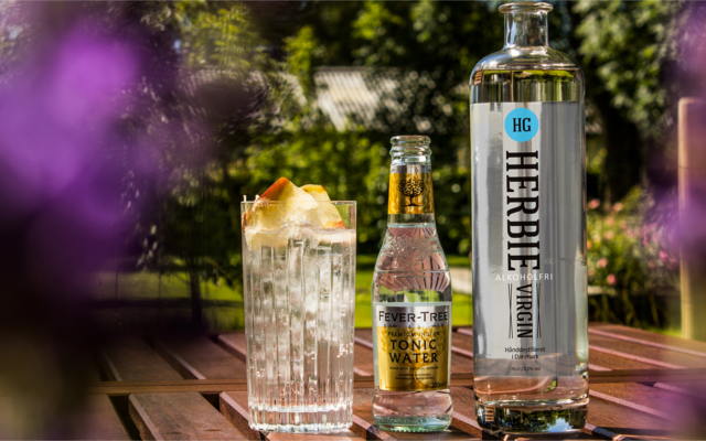 Herbie Virgin Alcohol Free Gin with Fevertree Tonic