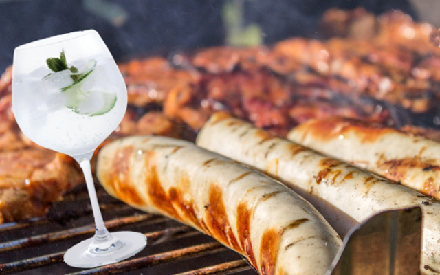 Gin and Tonic G&T flavoured pork Irish sausages