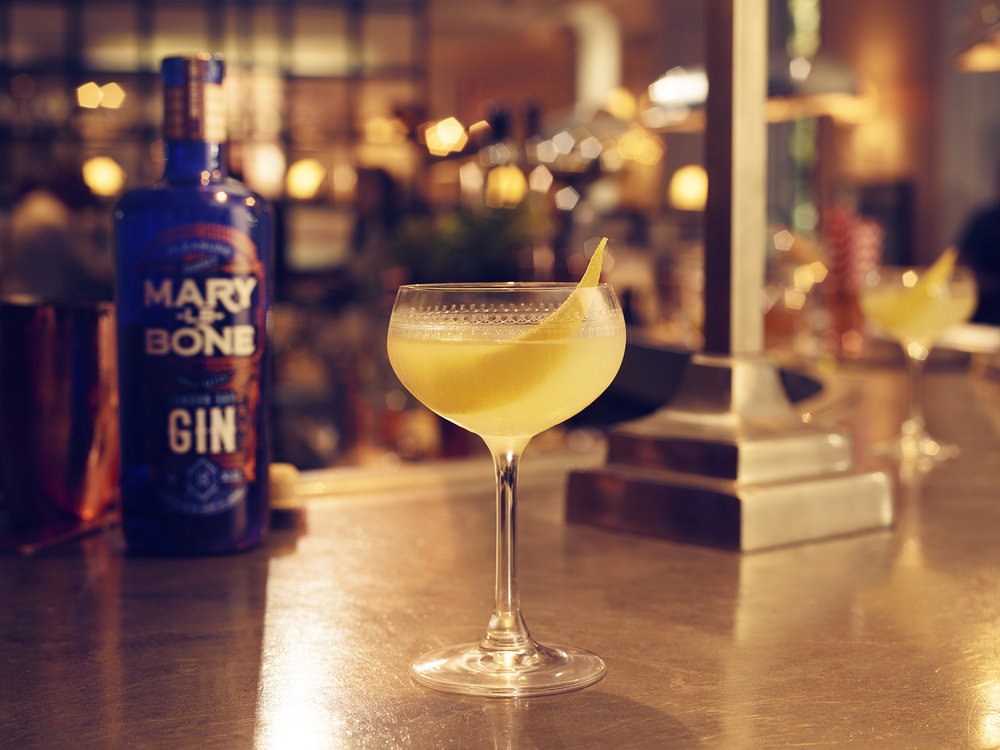 London Calling Marylebone Gin cocktail