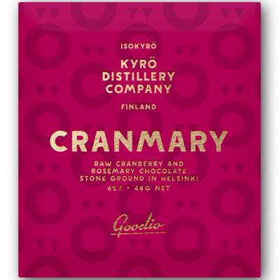 Goodio X Kyrö Distillery Company Cranmary Chocolate