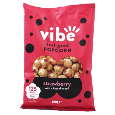 Vibe Feel Good Strawberry Popcorn