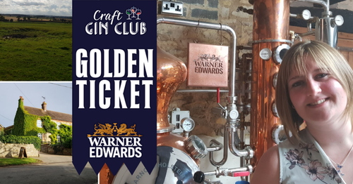 Warner Edwards Gin Golden Ticket Winner Craft Gin Club
