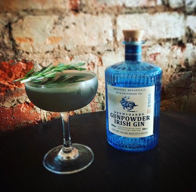 Simpson's gin bar sutton coldfield drumshambo violet cocktail