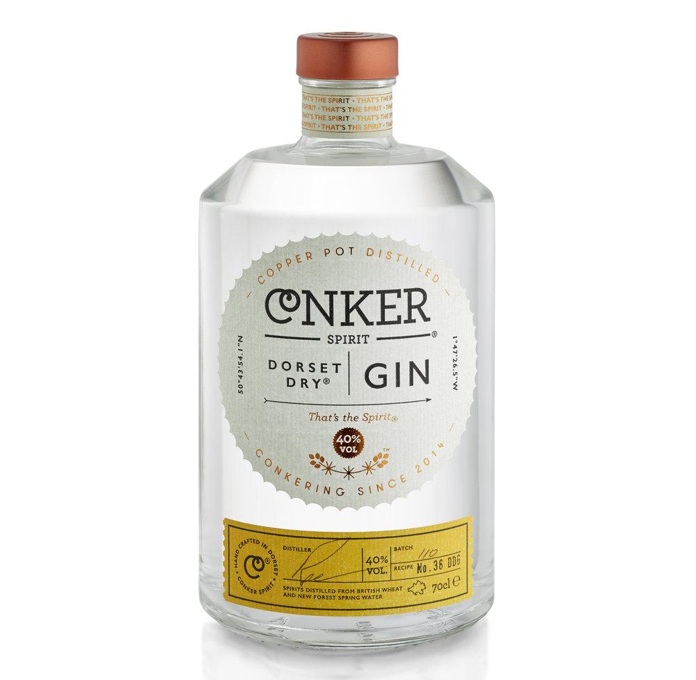 conker gin dorset craft gin