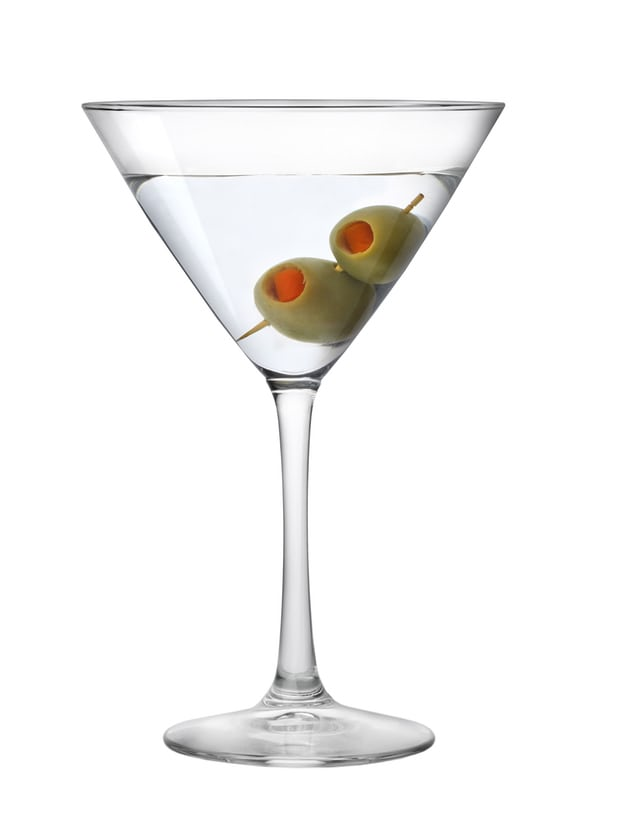 martini gin cocktail back to school