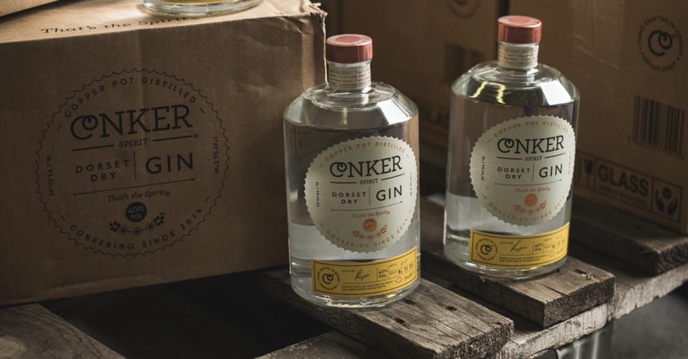 conker gin dry gin dorset