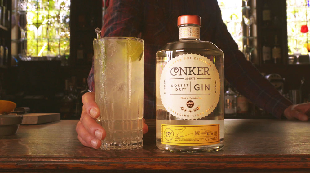 the allotment conker gin cocktail