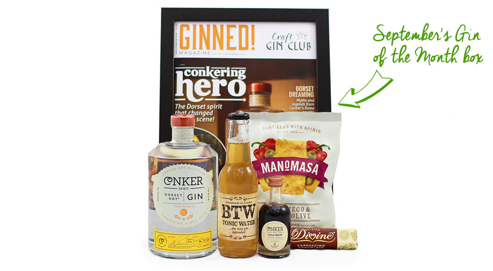 September's Gin of the Month Box Craft Gin Club
