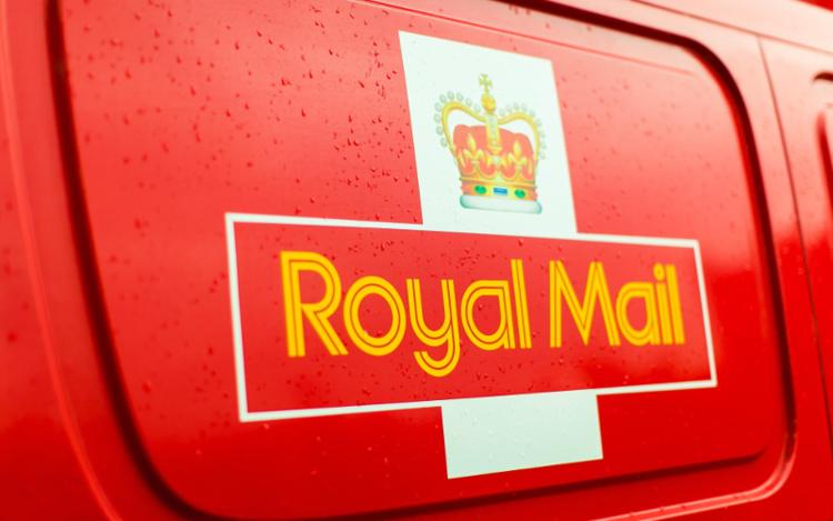 royal mail van postage craft gin club