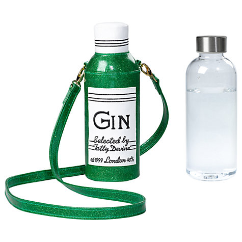 gin water bottle