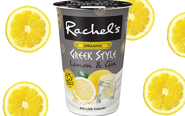 Gin Lemon Yogurt Rachel's Organic