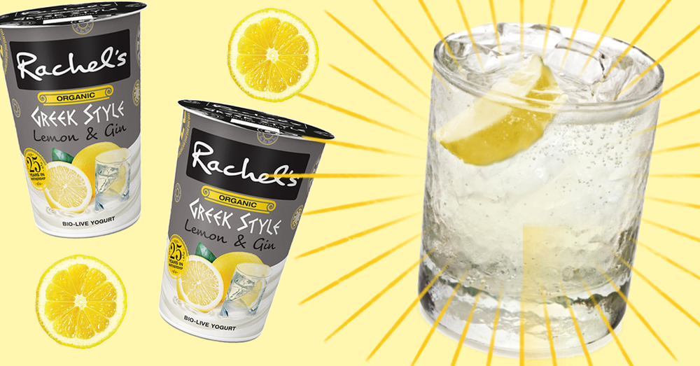 gin and tonic rachels yoghurt