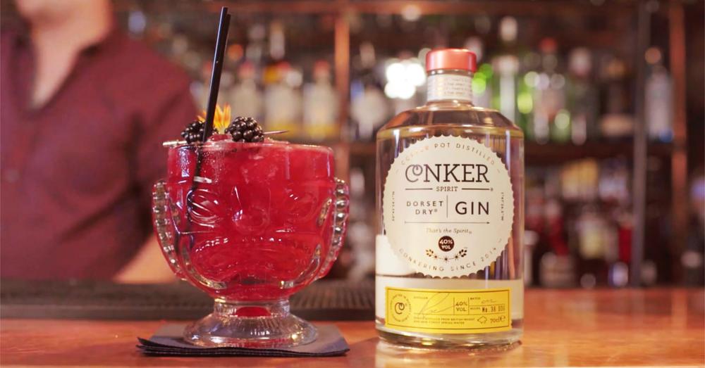 Conker Spirit Dorset Dry Gin cocktail The Oozer