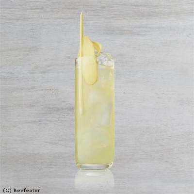 thai gin cocktail highball