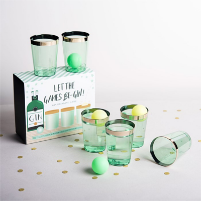 Getting Personal Gin Pong Novelty Game Set