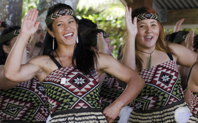 Maori women of New Zealand