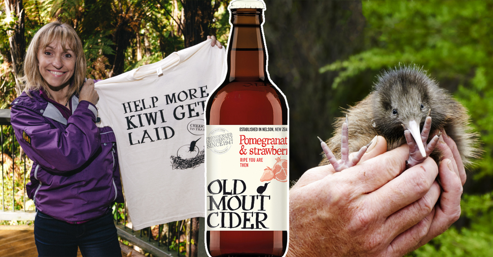 Old Mout Kiwi conservation campaign