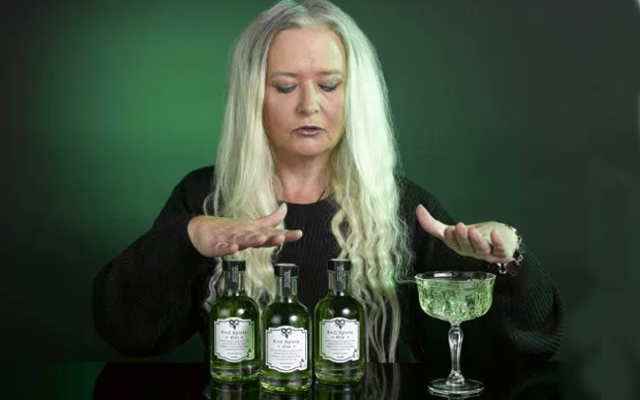 Evil Spirit Gin and Joanne White