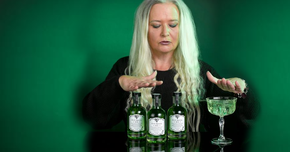 Cursed Halloween gin