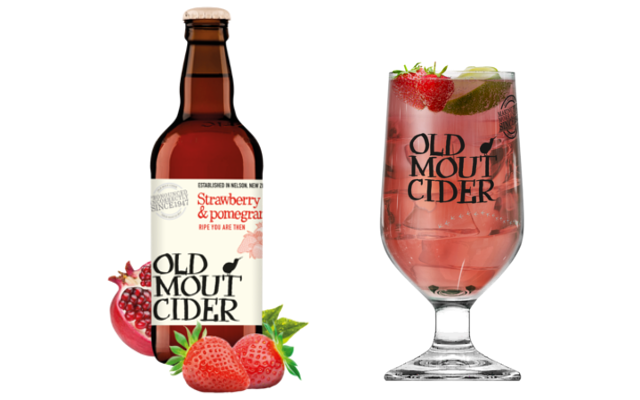 Old Mout Cider Strawberry and Pomegranite