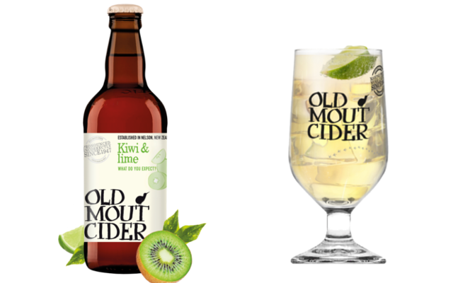 Old Mout Cider Kiwi and Lime