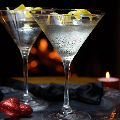 Vesper Martini gin cocktail