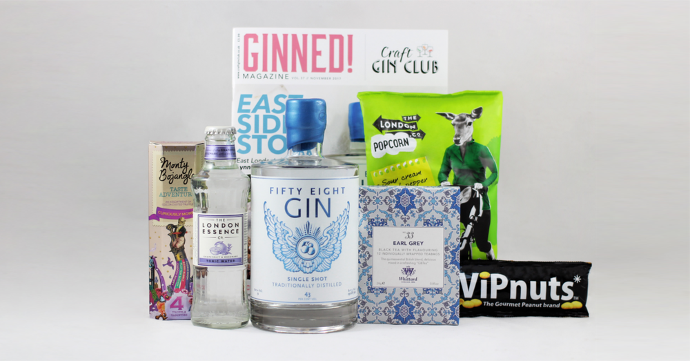 November 58 Gin of the Month box