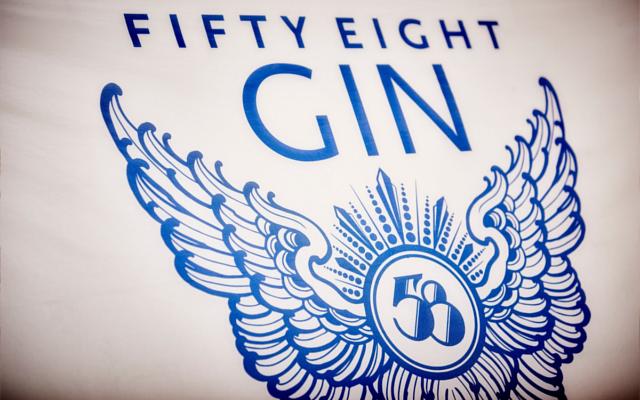 58 Gin Logo Branding