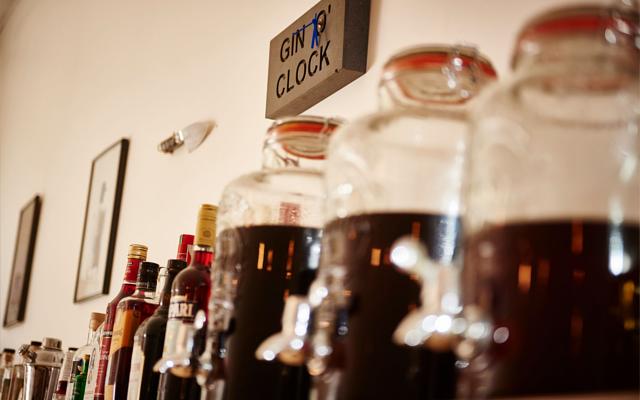 58 Gin distillery various bottles