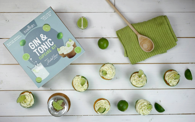 BakedIn Gin Tonic Cupcakes Baking Kit