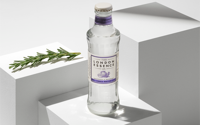 The London Essence Company Grapefruit Rosemary Tonic Water