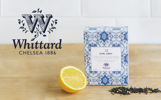 Whittard of Chelsea Earl Grey tea box